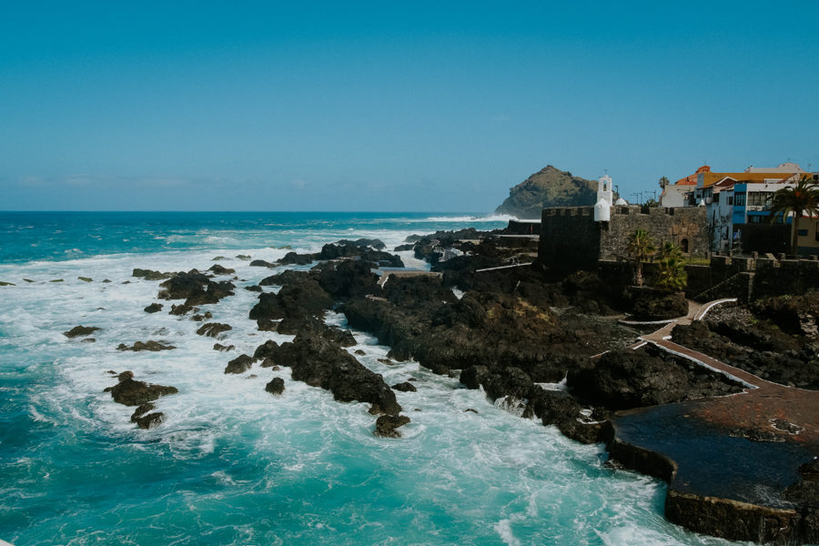 Wyspy Kanaryjskie- Teneryfa -Garachico i Costa Adeje