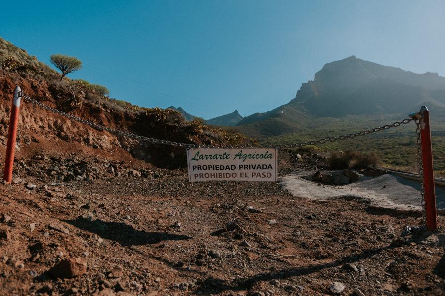 Wyspy Kanaryjskie – Teneryfa – górskie wędrówki – Costa Adeje i  Los Gigantes